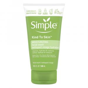Simple Moisturizing Facial Wash Kind to Skin
