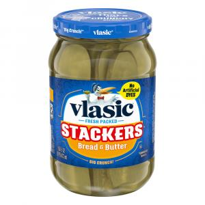 Vlasic Bread & Butter Stackers