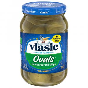 Vlasic Ovals Dill Pickle Chips