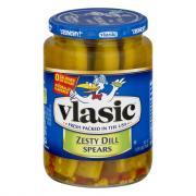 Vlasic Zesty Dill Pickle Spears