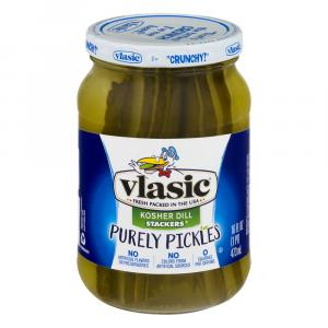 Vlasic Purely Kosher Dill Stackers Pickles