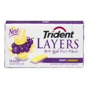 Trident Layers Grape Lemonade Gum