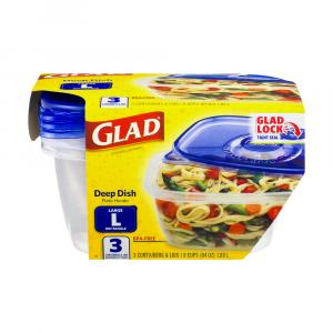 Gladware Deep Dish Casserole Containers