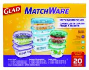 Glad MatchWare Variety Pack 20-Pieces