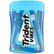 Trident Vibes Peppermint Wave Sugar Free Gum