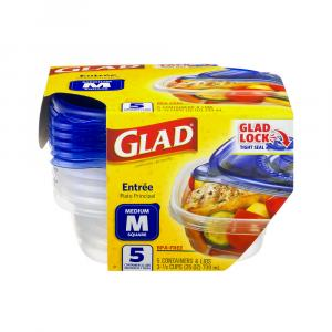 Gladware Entree Size Storage Containers