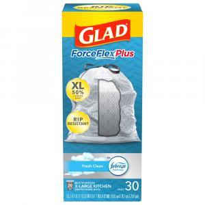 Glad Tall Kitchen Bags Pro Draw String Odor Shield