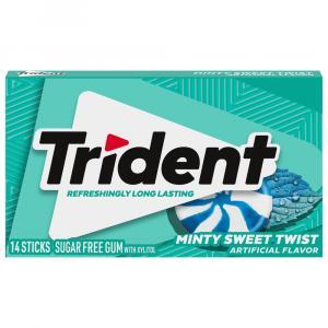 Trident Minty Sweet Twist Gum