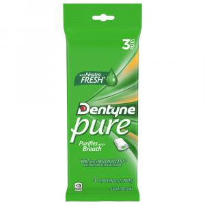 Dentyne Pure Mint Melon Accents Gum