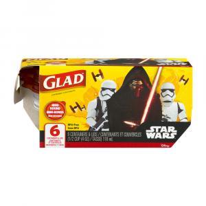 Gladware Mini Round Containers Star Wars