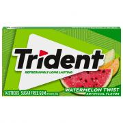 Trident Watermelon Sugar Free Gum