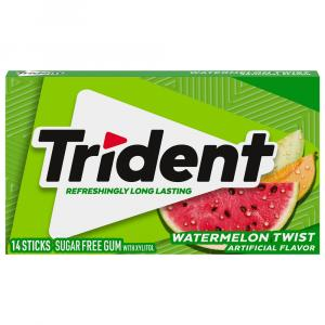 Trident Watermelon Sugar Free Gum