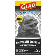 Glad 30-Gallon Forceflex Drawstring Trash Bags