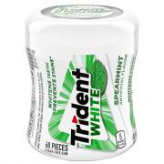 Trident White Spearmint Sugar Free Gum Bottle