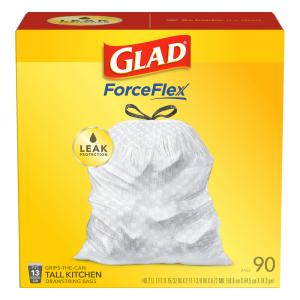 Glad Tall Kitchen 13-Gallon Drawstring Bags