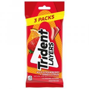 Trident Layers Wild Strawberry & Tangy Citrus Gum