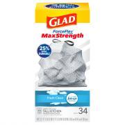 Glad 13-Gallon Odor Shield Forceflex Tall Kitchen