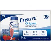 Ensure Original Strawberry Nutrition Shakes