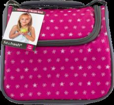 Morgan Pink Flower Dot Bag