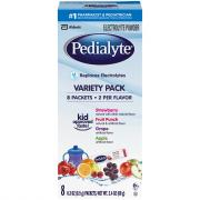 Pedialyte Powder Packets Variety Pack