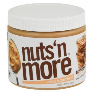 Nuts' N More Toffee Crunch Peanut Spread