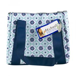 Fit & Fresh Aqua Navy Lunch Bag