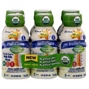 PediaSure Organic Classic Vanilla Shake