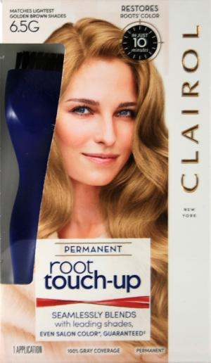 Clariol Root Touch-Up Light Golden Brown 6.5G Permanant