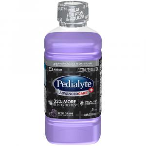 Pedialyte Advanced Care Plus Iced Grape
