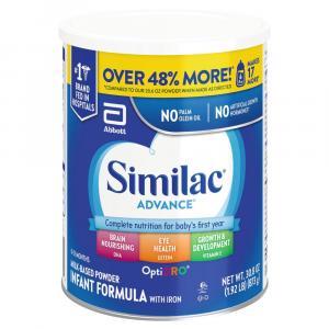 Similac OptiGRO Advance Powder Formula with Iron