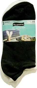 No nonsense Women's Microfiber No Show Socks
