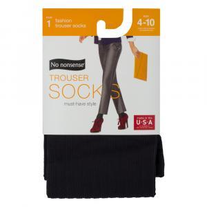No nonsense Silk Black Trouser Socks Size 4-10