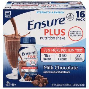 Ensure Plus Chocolate Nutrition Shakes