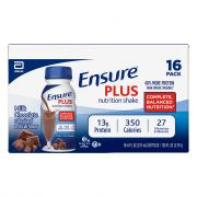 Ensure Plus Chocolate Nutrition Shakes