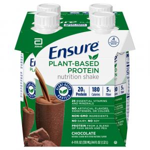 Ensure Plant-Based Protein Chocolate Nutrition Shake