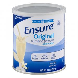 Ensure Nutrition Powder Vanilla Flavor