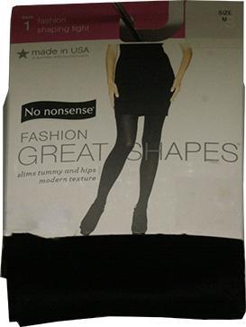No nonsense Black Fashion Shaping Medium Tights