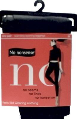 No nonsense Seamless Black Leggings Medium