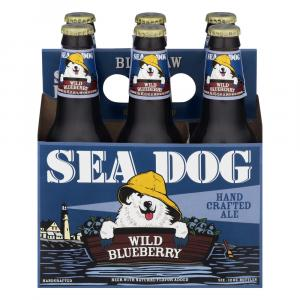 Sea Dog Bluepaw Wild Bluberry Wheat Ale