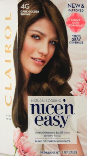 Nice 'N Easy 4G Dark Golden Brown Hair Color