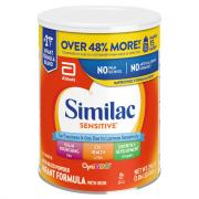 Similac OptiGRO Sensitive Powder Formula with Iron