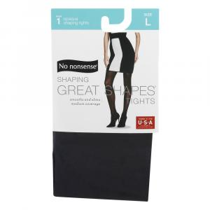 No nonsense Great Shapes Tights Opaque Black Large
