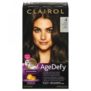 Clairol Age Defy Dark Brown 4 Permanent Hair Color
