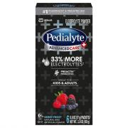 Pedialyte Advanced Care Berry Frost Powder Packets