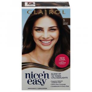 Nice 'N Easy Medium Brown 5 Permanent Hair Color