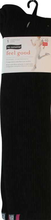 No nonsense Feel Good Black Knee Socks