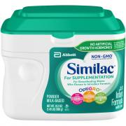 Similac Supplementation