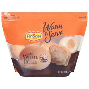 Rhodes Soft White Dinner Rolls