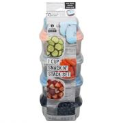 Fit & Fresh Snack N' Stack 1 Cup Set