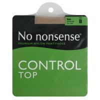No nonsense Medium/Tall Size Control Top Nude Pantyhose
